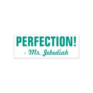 "Positive ""PERFEKTION!"" + Kundenspezifischer Permastempel"