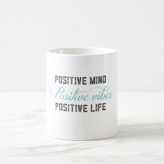 Positive Schwingungen Kaffeetasse
