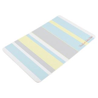 Positive Schwingungens-Pastellfarbboden-Matte Bodenmatte