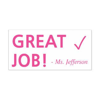 """Positiver """"GROSSER JOB!"""" + Permastempel"""