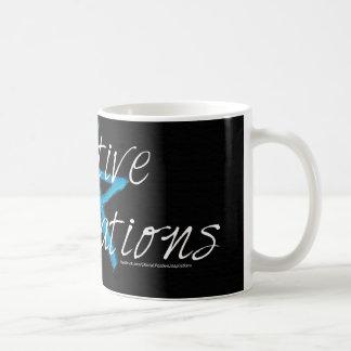 Positiver Inspirations-Gang Kaffeetasse