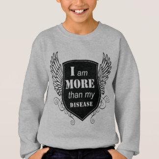 Positives motivierend BIN ICH MEHR ALS meine Sweatshirt