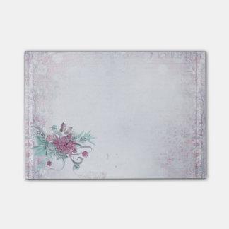 Post-it® Bureau - joli ressort (2) floral