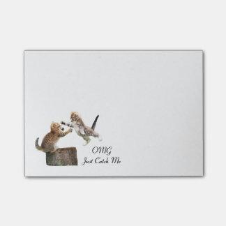 Post-it® Courrier--Notes personnalisées de chaton