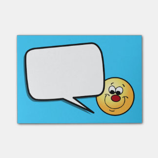 Post-it® Visage souriant sournois Grumpey