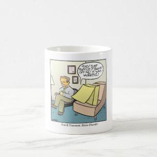 Post-it-Zettel Kaffeetasse