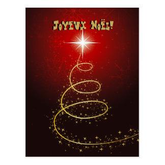 Postales de cartes de fard à joues d'Arbre de Noël Carte Postale