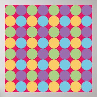 Poster conception géométrique Lunares1