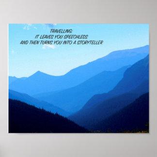 Poster Inspiration de voyage