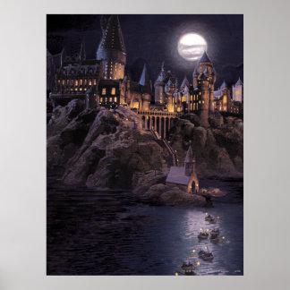 Poster Lac castle | de Harry Potter grand à Hogwarts