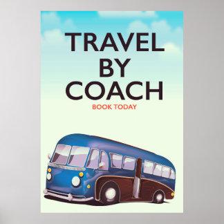 Poster Voyage par l'affiche de voyage des Anglais