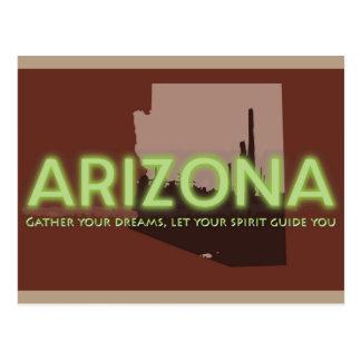 Postkarte - ARIZONA-GEIST
