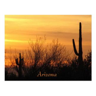 Postkarte--Arizona Sunset-3 Postkarte