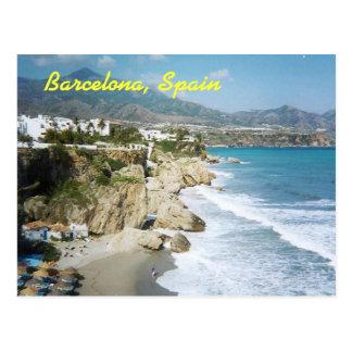 Postkarte Barcelonas, Spanien