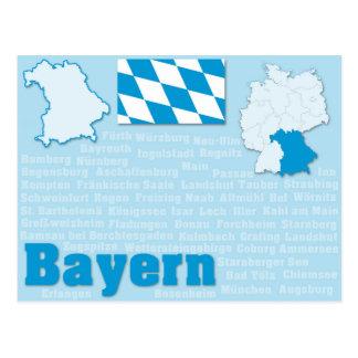 """Postkarte """"Bayern """""""