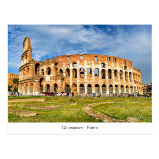 Postkarte Colosseum in Rom