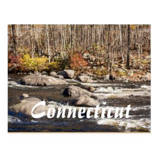Postkarte Connecticuts Fall-River