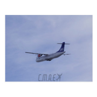 Postkarte Dämpfungsreglers ATR-72 CMAE