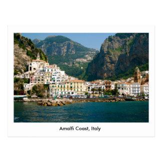 Postkarte der Amalfi-Küste in Italien, UNESCO