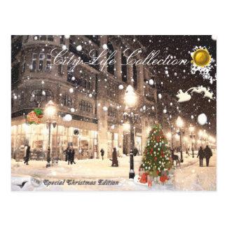 Postkarte der Stadt-Leben-Sammlungs-#4