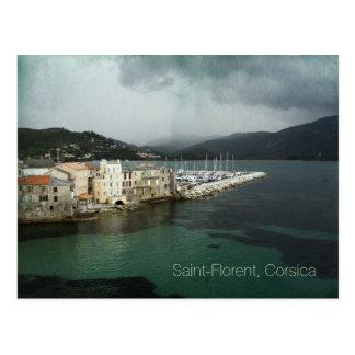 Postkarte des Heiligen-Florent, Korsika,