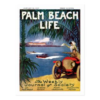 Postkarte des Palm Beach-Lebens 19
