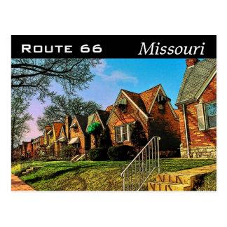 Postkarte des Weg-66