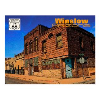 Postkarte des Weg-66 (AZ)