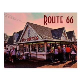Postkarte des Weg-66 (Missouri)