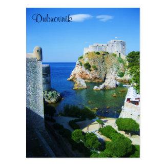 Postkarte Dubrovniks Kroatien
