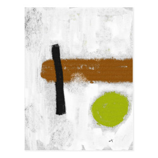 "Postkarte ""ein grüner Kreis """
