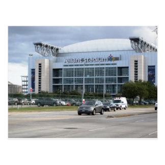 Postkarte: Erinnern an Reliant Stadium Postkarte