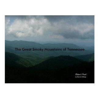 Postkarte (Great Smoky Mountains von Tennessee)