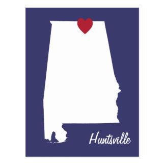 Postkarte Huntsvilles Alabama