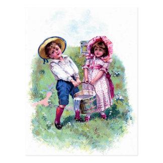 Postkarte - Jack und Jill
