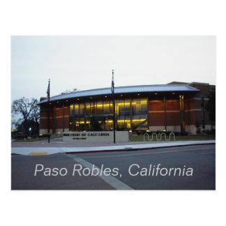 Postkarte: Kammergericht, Paso Robles, Kalifornien Postkarte