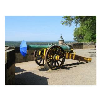 Postkarte - Kanonenfutter