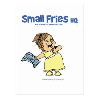 Postkarte kleine Fische Hauptquartiers Angela