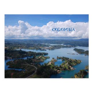 Postkarte | Kolumbien, Guatape, nahes Medellín.
