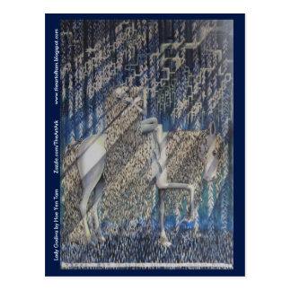 Postkarte - Lady Godiva
