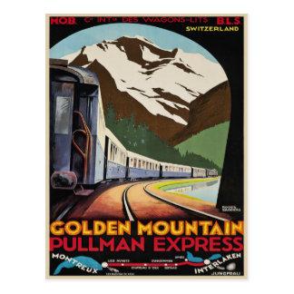 Postkarte mit coolem Vintagem