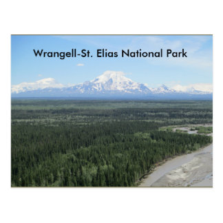 Postkarte Nationalparks Wrangell-Heiliges Elias
