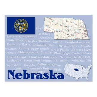 """Postkarte """"Nebraska """""""