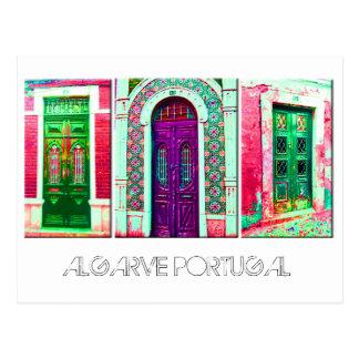 Postkarte: Portugiesische Türen Postkarte