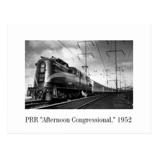 "Postkarte - PRR ""Nachmittag Kongress,"" 1952"