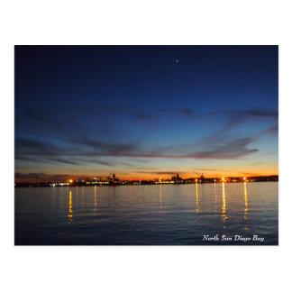 Postkarte - San Diego Bucht