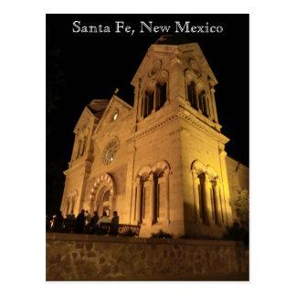 Postkarte Santa Fe Nanometer