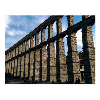 Postkarte Segovias, Spanien