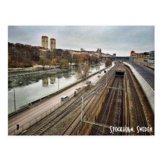 Postkarte Stockholms, Schweden