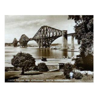 Postkarte, überbrücken weiter, Schottland Postkarte